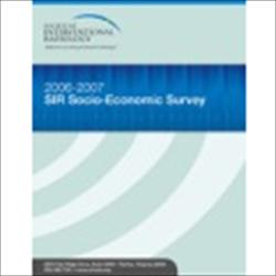 SIR Socio-Economic Survey 2006-2007 (pdf)