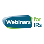 Webinars for IRs: Innovating through IR