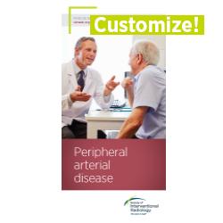 Patient Information Brochure - Peripheral Arterial Disease (Customizable)