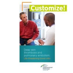 Patient Information Brochure - Deep Vein Thrombosis (Customizable)