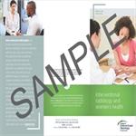 Patient Information Brochure - Women's Health (100 pk)