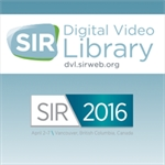 SIR 2016 Digital Video Library (DVL) - Online Only