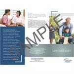 Patient Information Brochure - Low Back Pain (100 pk)